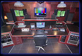 Northwoods Media Studio editing desk