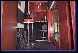 Studio voiceover room