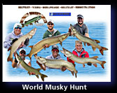 World Musky Hunt - Lake Tomahawk, Wisconsin