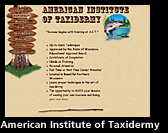 American Institute of Taxidermy - Boulder Junction, Wisconsin