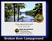 Broken Bow Campground- Lac du Flambeau, Wisconsin
