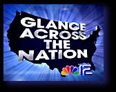 NBC-12 Glance Across the Nation TV open