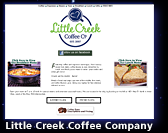 Little Creek Coffee Company website